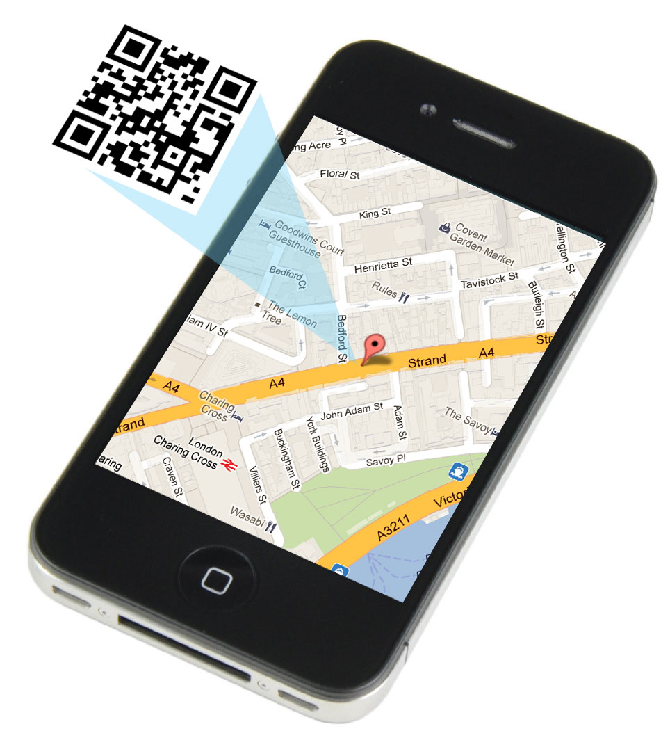 asset tracking software shown on mobile app