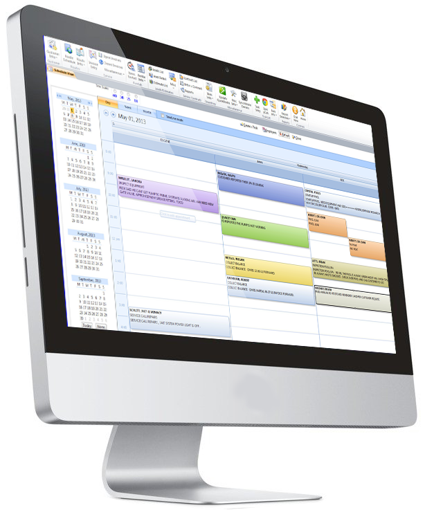 quickbooks asset tracking software shown on desktop