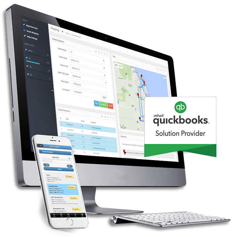 QuickBooks™ Compatible Service Business Software